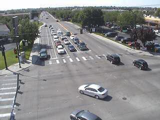 Image of Traffic from traffic cam